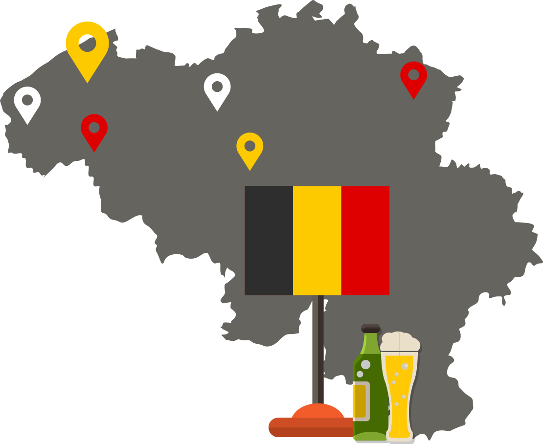 Map of Beer Locations